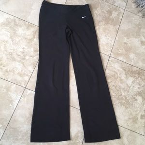 Nike Dri Fit wide leg joggers Training pants